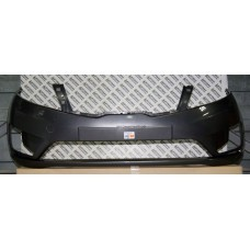 Бампер передний Kia Rio 2011-2015 Серый металлик SAE (Серый карбон)