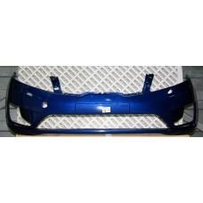 Бампер передний Kia Rio 2011-2015 Синий металлик WGM (Ослепительно-синий)