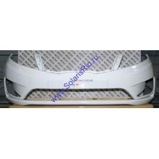 Бампер передний Kia Rio 2011-2015 белый PGU (Кристально-белый)