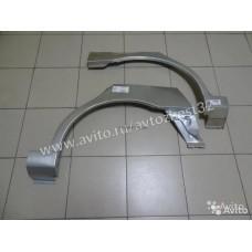 Арка крыла Шевроле Ланос/Chevrolet Lanos ремонтная